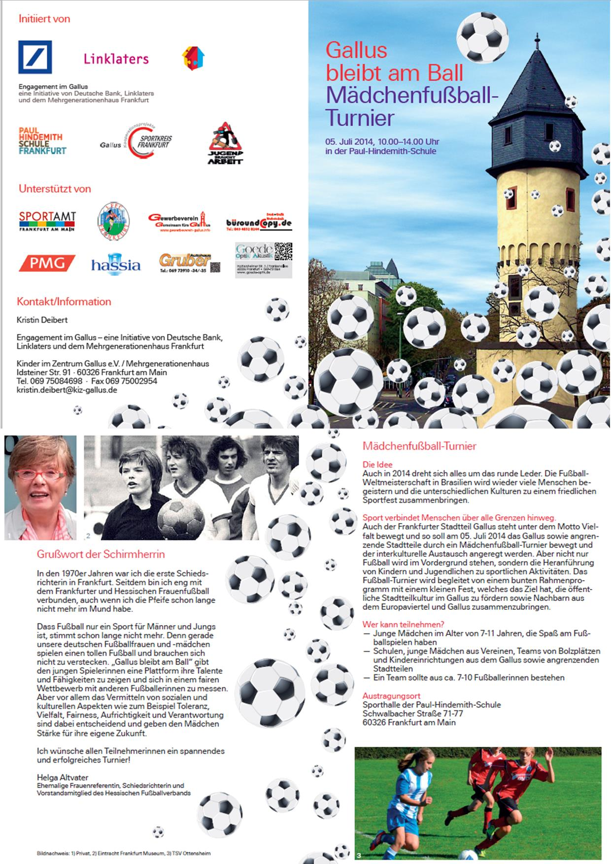 Flyer_Gallus bleibt am Ball 2014
